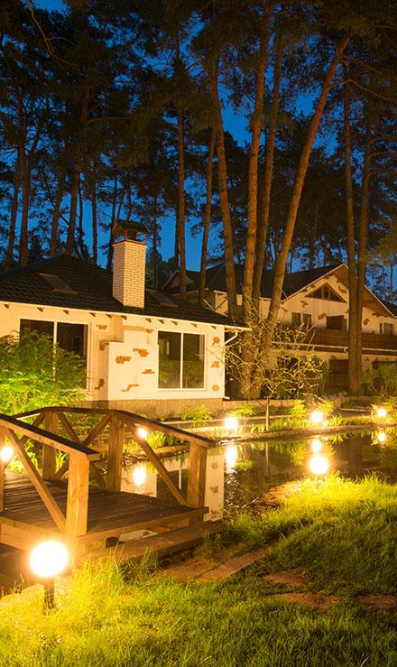 Contact Marenco Lawn Sprinkler Inc for Landscape Lighting Services